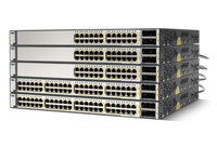 Cisco Catalyst WS-C3750E24TDSD-RF Managed L2 Gigabit Ethernet (10/100/1000) 1U Silver network switch