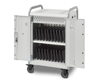 Bretford Pulse L Carts Portable device management cart Grey