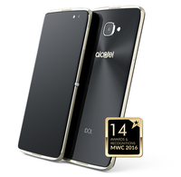 Alcatel IDOL 4 Dual SIM 4G 16GB Zwart, Goud