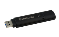Kingston Technology DataTraveler 4000G2 with Management 4GB 4GB USB 3.0 (3.1 Gen 1) Type-A Black USB flash drive