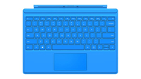 Microsoft Surface Pro 4 Type Cover Microsoft Cover port QWERTY US English Blue mobile device keyboard