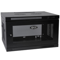 Tripp Lite SRW6UDP Wall mounted rack 6U 90.7kg Black rack