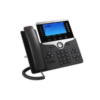 Cisco 8861 Wi-Fi Black,Silver IP phone