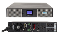 Eaton 9PX 3000RT Double-conversion (Online) 3000VA 7AC outlet(s) Rackmount/Tower Black,Silver uninterruptible power supply (UPS)