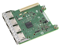 DELL Broadcom 5720 QP Intern Ethernet 1000Mbit/s netwerkkaart & -adapter