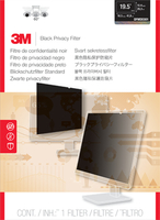"3M OFMDE001 19.5"" Monitor Frameless display privacy filter"