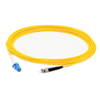 Add-On Computer Peripherals (ACP) 6m, LC/ST 6m LC ST Yellow fiber optic cable