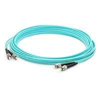 Add-On Computer Peripherals (ACP) ADD-ST-ST-50M5OM3 50m ST ST Turquoise fiber optic cable