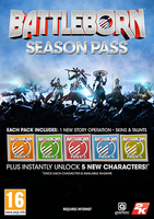2K Battleborn Season Pass PC Season Pass PC video game