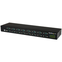 StarTech.com ICUSB23216FD USB 2.0 Type-B 480Mbit/s Black interface hub
