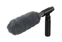 Sony ECMVG1 Digital camcorder microphone Wired Black,Grey microphone
