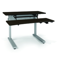 Ergotron Elevate Adjusta 48 Black computer desk