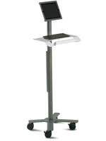 Ergotron PT2GMPW3 Tablet Multimedia cart Grey,White multimedia cart/stand