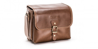 Olympus Vintage Camera Bag Box case Brown