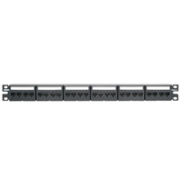 Panduit CPPKL6ATG24WBL 1U Patch Panel