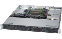 Supermicro SuperServer 5019S-MT Intel C612 LGA 1151 (Socket H4) 1U Black