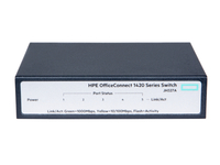 Hewlett Packard Enterprise OfficeConnect 1420 5G Unmanaged L2 Gigabit Ethernet (10/100/1000) 1U Grey