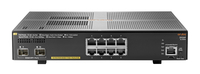 Hewlett Packard Enterprise Aruba 2930F 8G PoE+ 2SFP+ Managed L3 Gigabit Ethernet (10/100/1000) Power over Ethernet (PoE) 1U Grey