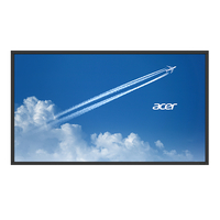 "Acer DV553bmidv Digital signage flat panel 55"" LED Full HD Black"