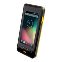 "Wasp DR2 4.7"" 720 x 1280pixels Touchscreen 285g Black,Yellow PDA"