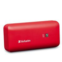 Verbatim 99379 Lithium-Ion (Li-Ion) 4400mAh Red power bank