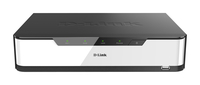 D-Link DNR-2020-04P Black,White network video recorder
