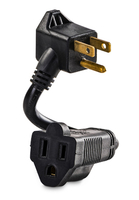 CyberPower GC201 Indoor 2AC outlet(s) 0.152m Black power extension