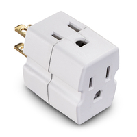 CyberPower GT300 NEMA 5-15P NEMA 5-15R White power plug adapter
