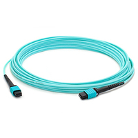 Add-On Computer Peripherals (ACP) ADD-24FMPOMPO-30M5OM3 30m MPO/MTP MPO/MTP Turquoise fiber optic cable