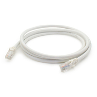 Add-On Computer Peripherals (ACP) ADD-5FCAT6-WHITE 1.5m Cat6 U/UTP (UTP) White networking cable