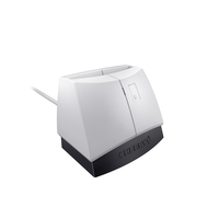 CHERRY SmartTerminal ST-1144 USB 2.0 Zwart, Grijs smart card reader