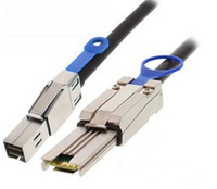 Add-On Computer Peripherals (ACP) ADD-SFF8644-4X8088-5M 5m Black Serial Attached SCSI (SAS) cable