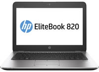 "HP EliteBook 820 G3 2.4GHz i5-6300U 12.5"" 1920 x 1080Pixels Zwart, Zilver Notebook"