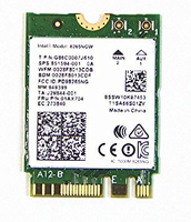 Intel AC 8265 Internal WLAN/Bluetooth 867Mbit/s networking card