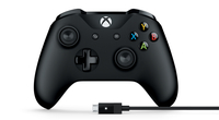 Microsoft 4N6-00002 Gamepad PC,Xbox One Zwart game controller
