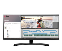 "LG 34UB88-P 34"" UltraWide Quad HD IPS Black computer monitor LED display"