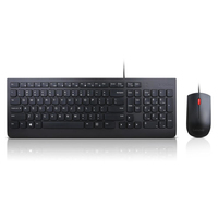 Lenovo 4X30L79883 USB QWERTY US English Black keyboard