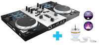 Hercules Air S Party Pack 2kanalen Zwart, Zilver DJ-controller