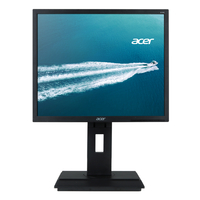 "Acer B6 B196L Aymdr 19"" IPS Black computer monitor"