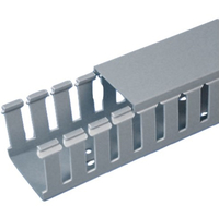 Panduit G1X2LG6-A Straight cable tray Grey cable tray