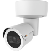 Axis COMPANION BULLET LE IP security camera Buiten Rond Wit