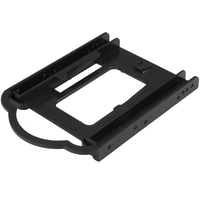 "StarTech.com BRACKET125PT 3.5"" Carrier panel Black drive bay panel"