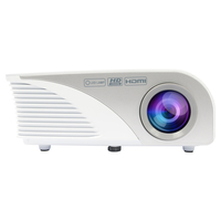 Salora 40BHD1200 Draagbare projector 1200ANSI lumens LED Grijs, Wit beamer/projector