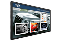 "Planar Systems UR8651-MX-ERO-T 86"" 3840 x 2160pixels Multi-touch Black touch screen monitor"