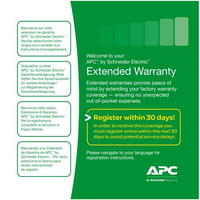 APC WBEXTWAR1YR-AC-01 warranty & support extension