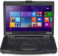 "Panasonic Toughbook CF 54 2.4GHz i5-6300U 14"" 1366 x 768pixels Black,Grey Notebook"