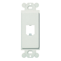 Panduit CFG1WH White switch plate/outlet cover