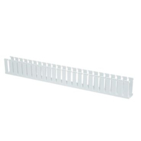Panduit G1.5X3WH6-A Straight cable tray White cable tray