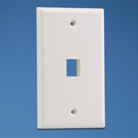 Panduit NK1FNWH White switch plate/outlet cover