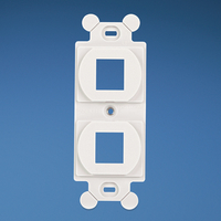 Panduit NK2106MFEI Ivory switch plate/outlet cover